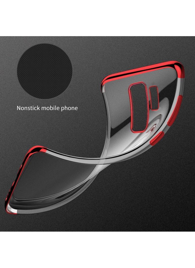 Microsonic Samsung Galaxy S9 Kılıf Skyfall Transparent Clear